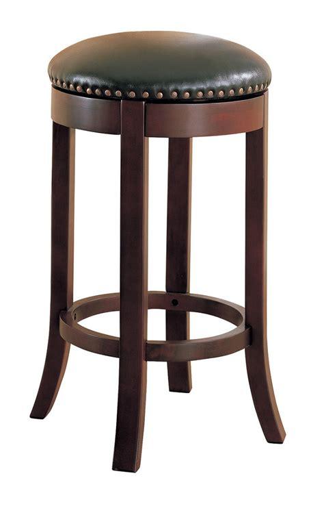 walnut counter stools wooden walnut swivel collection 101060 coaster bar stool 3337