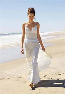 white long wedding dress beach wedding dress With wedding dresses for a beach wedding