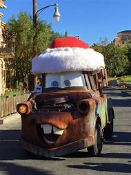 cars land christmas decorations