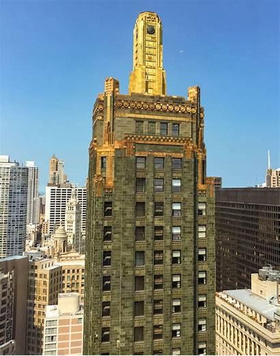 Carbide Carbon Building Buildings Chicago Architecture