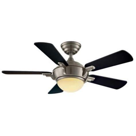 hton bay midili 44 in brushed nickel indoor ceiling