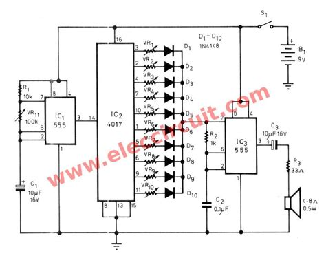 Sound Effects Generator Circuit Wiring Diagrams