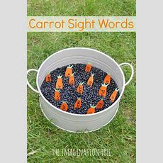 Digging For Carrot Sight Words Activity  Sight Words, Sight Word Activities And Words