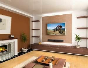 Wandfarben Brauntöne Wohnzimmer : braune wandfarbe entdecken sie die harmonische wirkung der braunt ne ~ Markanthonyermac.com Haus und Dekorationen