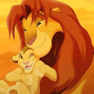 Lion King Simba and Kopa