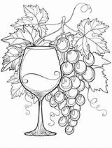Coloring Alcohol Wine Books sketch template