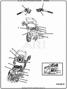 Homelite Bm80920 2800 Psi Pressure Washer Parts Diagram