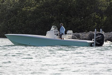 Sea Vee Boat Company by Sea Vee Debuts New 27 Foot Bay Boat Trade Only Today