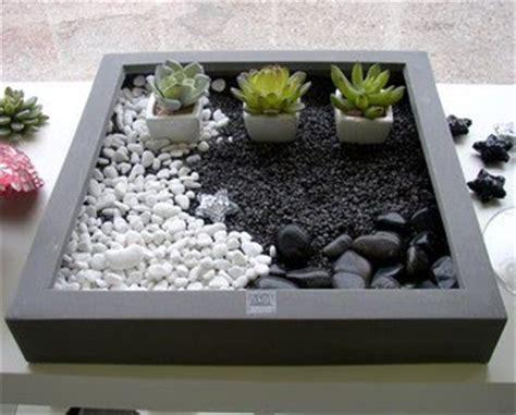 Jardines De Cactus Y Suculentas Mini Jardin Zen