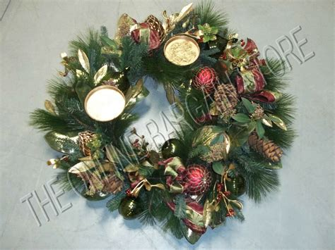 christmas table wreath centerpieces frontgate centerpiece table wreath pinecones green 32 quot ebay