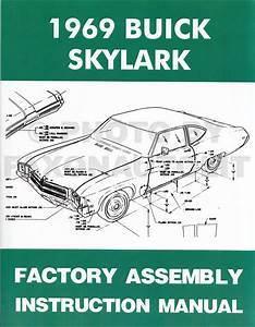 1969 Buick Wiring Diagram Manual Reprint Gran Sport Gs