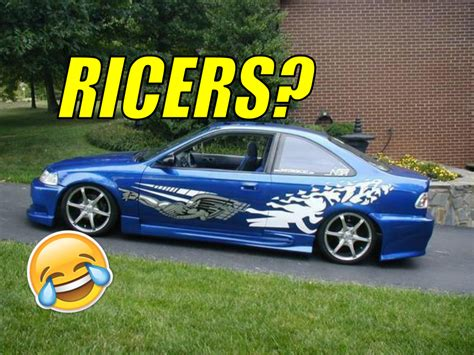 ricer car the importance of ricers in the car community geeks with