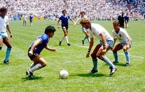 El gol del siglo, el increíble tanto de Maradona a Inglaterra