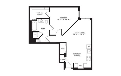 studio   bedroom apartments  washington dc anthology