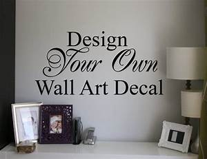 custom wall decal design your own decal tool With design your own wall decal here