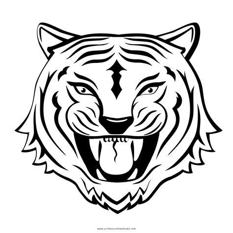 disegni da colorare uomo tigre tigre da colorare