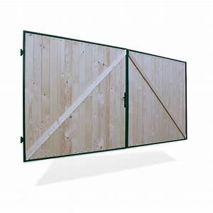 Gartentor Holz Kaufen : hoftor gartentor holztor doppelfl geltor einfahrtstor 400x180cm tor holz ebay ~ Markanthonyermac.com Haus und Dekorationen