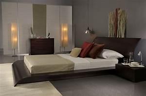 Lit Bas Adulte : chambre d co zen 50 id es pour une ambiance relax ~ Teatrodelosmanantiales.com Idées de Décoration
