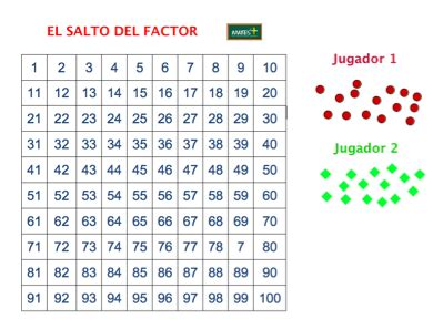 Este juego est dirigido a estudiantes de primero de secundaria en adelante. Secundaria y Bachillerato: Juegos matemáticos | Mates y