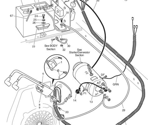 diagram ezgo pds  battery wiring diagram full version