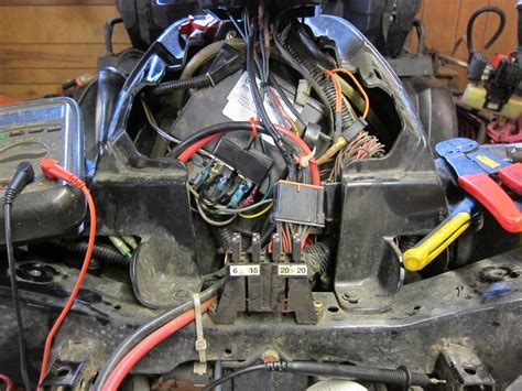 Polari Sportsman 335 Fuse Box by New Override Light Mod No Switches