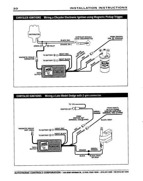 Msd Promag Wiring Diagram by Msd Dis 4