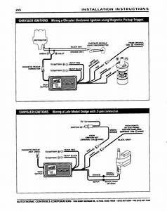 Msd 6al Wiring Diagram For Mopar Small Block
