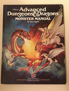 Monster Manual Advanced Dungeons  U0026 Dragons 4th Edition