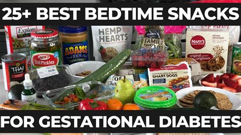 bedtime snack  gestational diabetes  good blood