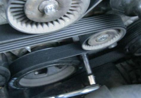 video change serpentine poly  drive belt tensioner