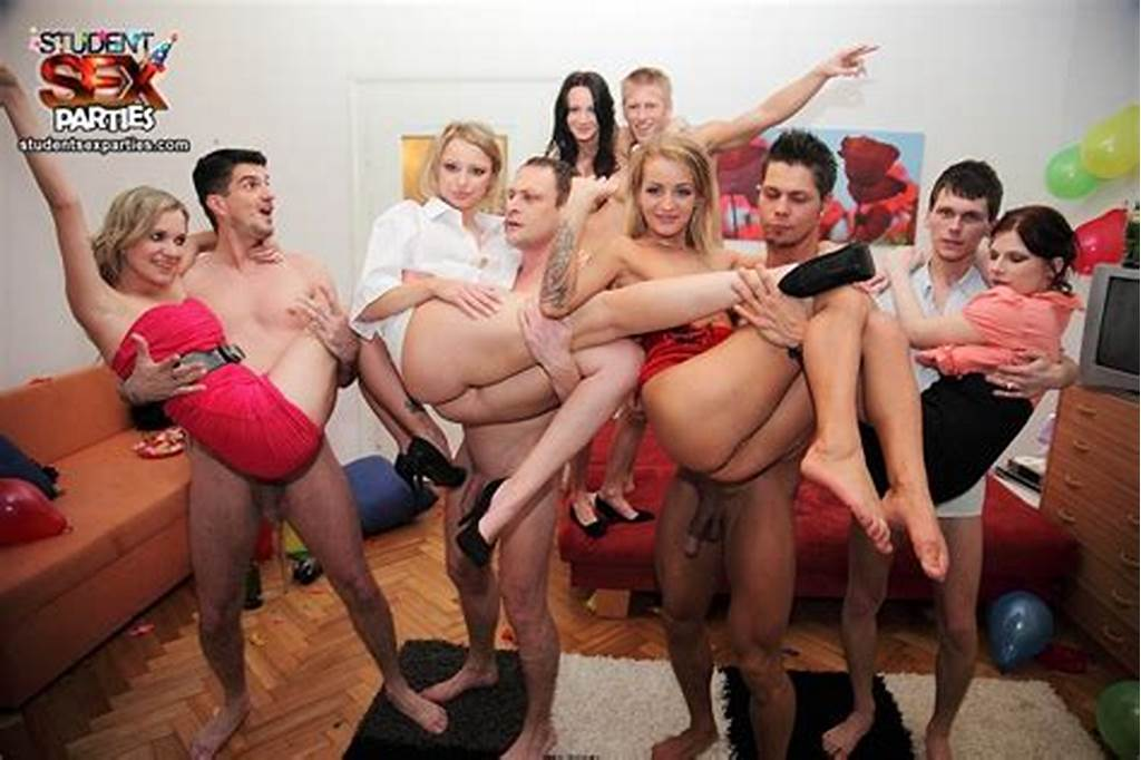 #Group #Student #Wild #Party #Porn