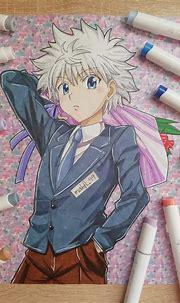 💙Killua Zoldyck💙 | Anime Art Amino
