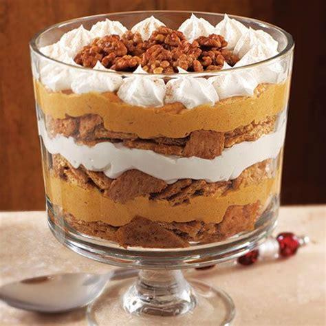 pumpkin maple cream trifle recipes pampered chef