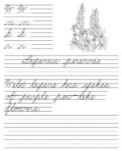 Free Printable Cursive Handwriting Practice Worksheets