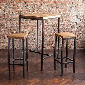 Barhocker Industrial Style : details zu bestloft bartisch stehtisch barhocker tresen barstuhl bar industrie design loft ~ Whattoseeinmadrid.com Haus und Dekorationen