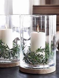 best 25 christmas decor ideas on pinterest xmas With kitchen colors with white cabinets with glass hurricane candle holder simply decor