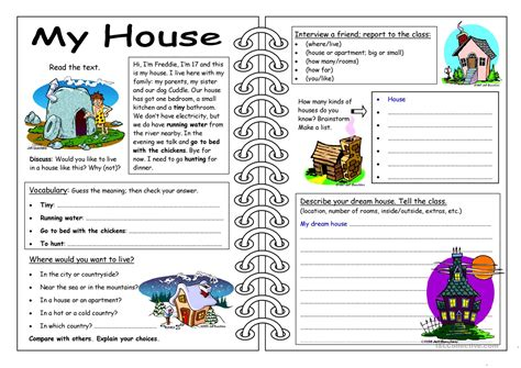 favorite houses and homes worksheets goodsnyc