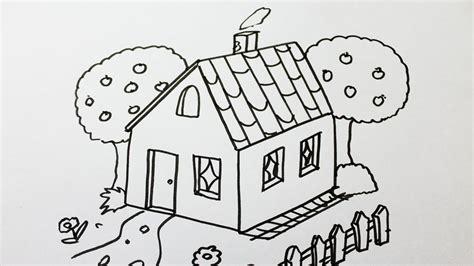 maison de cagne dessin comment dessiner une maison
