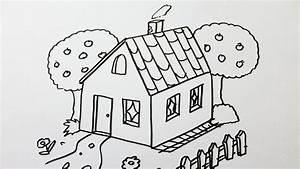 Comment Dessiner Une Maison YouTube