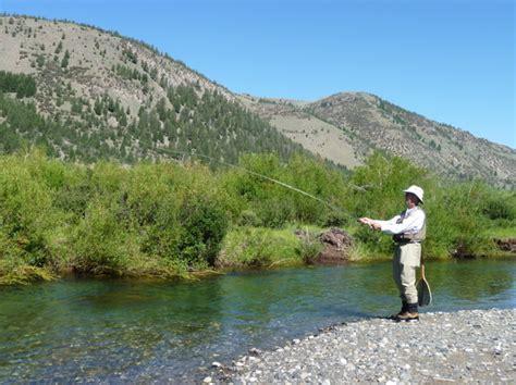 fishing idaho fly stream trout horse wild creek fish triporati habegger larry