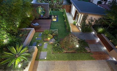 modern  contemporary courtyard gardens   city home design lover