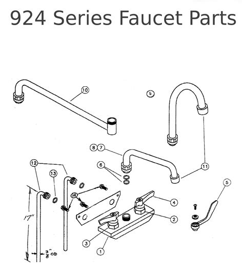 Free Faucet Diagram by Free Faucet Repair Pfister Kitchen Faucet Repair Parts