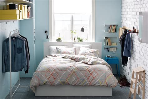 Ikea Small Bedroom Ideas by Smart Ideas For Clothes Storage In A Small Space