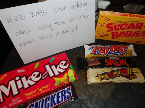 Names Of Candy For Encouragement