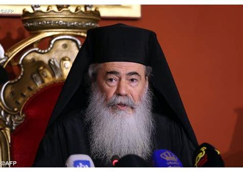le patriarche grec orthodoxe de j 233 rusalem attendu au vatican radio vatican