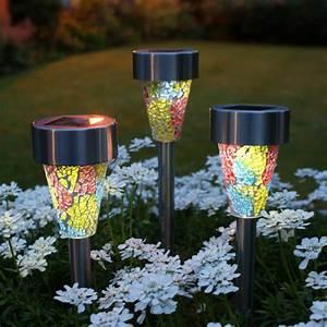 Landscape solar lighting small fan power mini