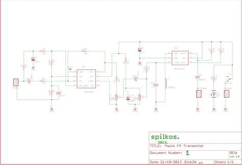 Transmitter Using Max Electronics Lab