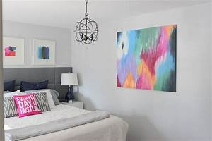 12 easy diy canvas art crafts how to decorate your own for What kind of paint to use on kitchen cabinets for makeup canvas wall art