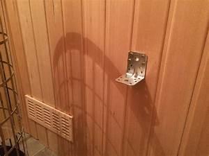 Sauna Bauen Kosten : befestigen der saunabank ~ Watch28wear.com Haus und Dekorationen