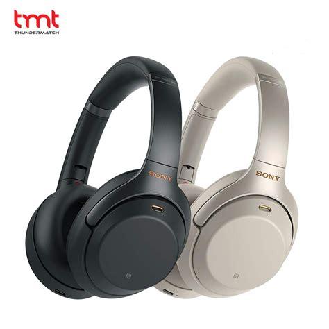 sony wireless headset sony 1000xm3 wireless noise cancelling headset tmt